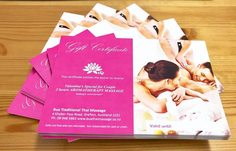 Bua Thai Gift Certificate