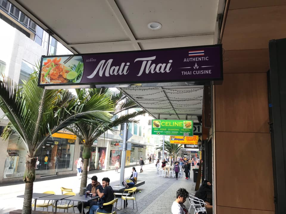 Mali Thai Lightbox Sign